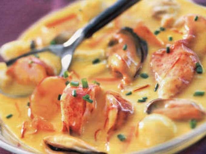 Cassolette de la mer au safran recette ptitchef for Idee plat original