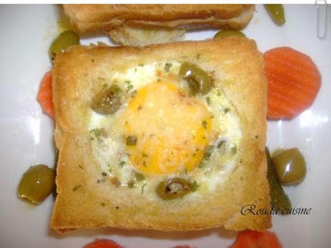 Croque omelette au four recette ptitchef - Recette croque monsieur au four ...