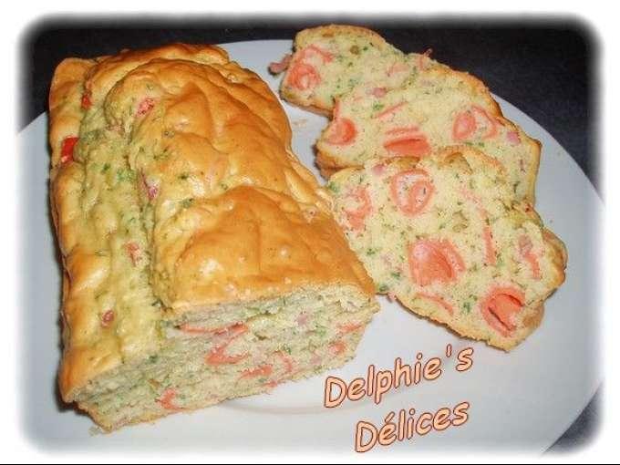 Cake sale au surimi recette ptitchef - Recette cake sale vegetarien ...