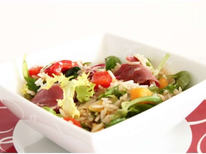 salade avec magret de canard vinaigre balsamique 22 recettes sur ptitchef. Black Bedroom Furniture Sets. Home Design Ideas