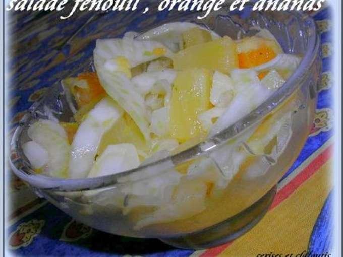 salade avec ananas orange 12 recettes sur ptitchef. Black Bedroom Furniture Sets. Home Design Ideas