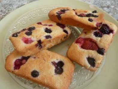Recette Financier aux fruits rouges