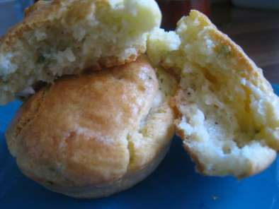 Recette Muffins chêvre, menthe, basilic
