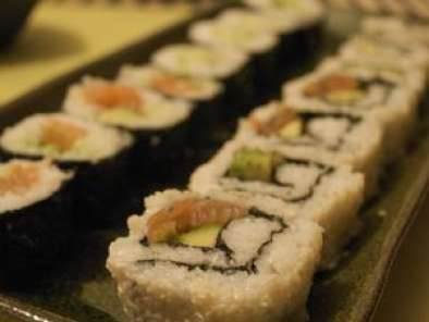 Recette Sushi party : maki, california roll & salade mangue & soja