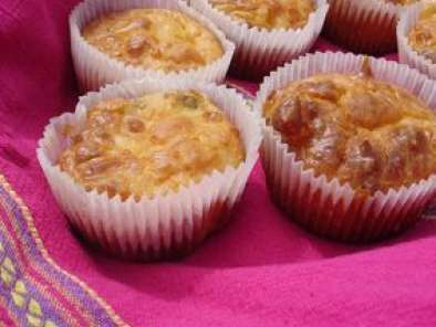 Recette Muffins tomates concombre piquillos