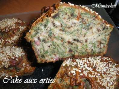 Recette Cake aux orties
