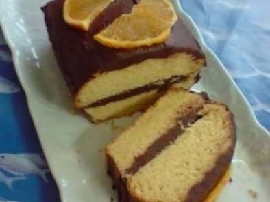 Recette Cake chocolat-orange