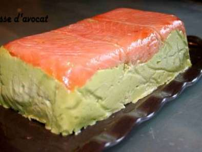 Recette Mousse d'avocat au saumon et surimi chantilly au saumon