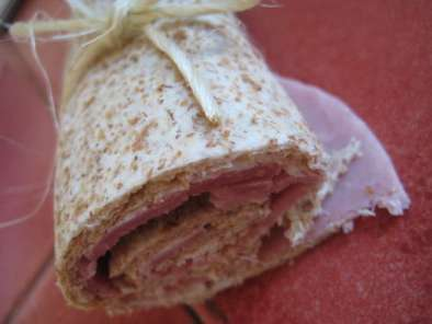 Recette Wrap jambon fromage