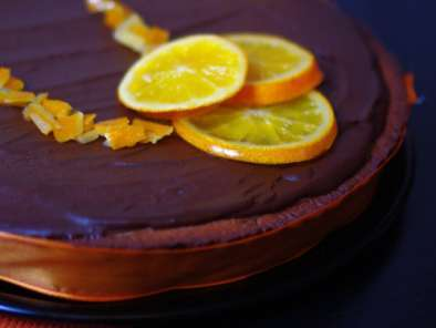 Recette Tarte orange chocolat