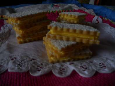 Recette Biscuits custard cream