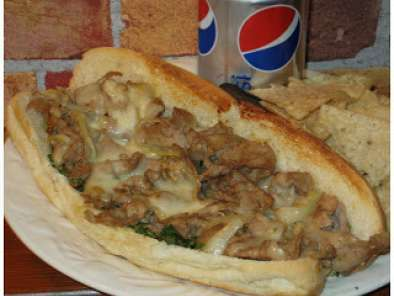 Recette Philly cheesesteak