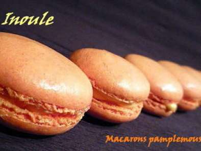 Recette Macarons pamplemousse-vanille