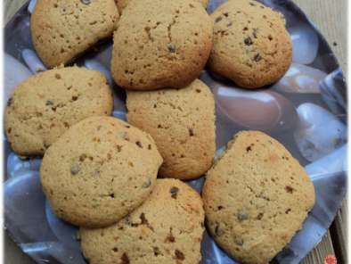 Recette Maxi cookies ultra moelleux banane/choco