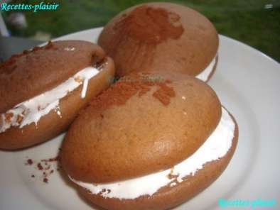 Recette Whoopies chocolate and fluff