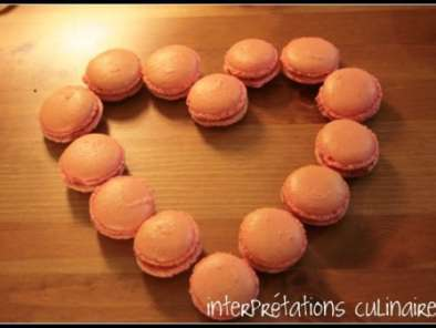 Recette Macarons framboise-litchi