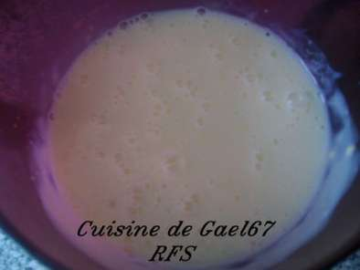 Recette Creme anglaise micro onde, inratable tupperware