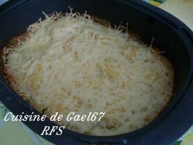 Recette Gratin dauphinois ultra pro tupperware