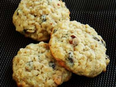 Recette The cookies Choco / Banane / Amande