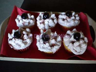 Recette Cupcakes amarena for ever