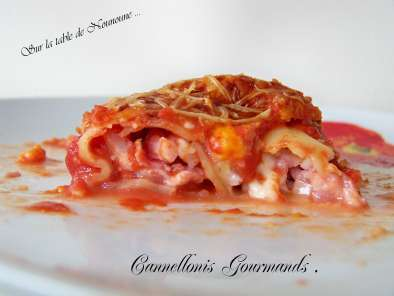 Recette Cannellonis gourmands