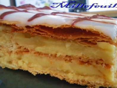 Recette Millefeuille express