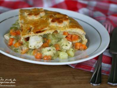 Recette Chicken pot pie (tourte au poulet)