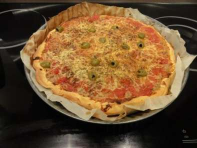 Recette Tarte thon moutarde tomate