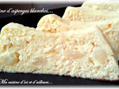 Recette Terrine d'asperges blanches