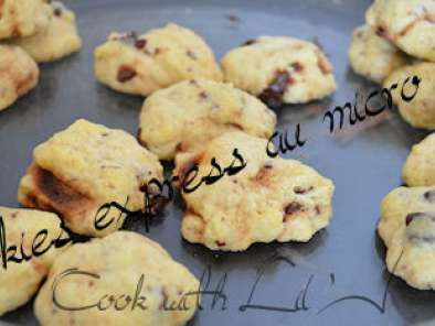 Recette Cookies express micro ondes