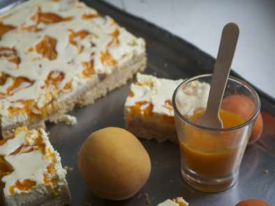 Recette Cheesecake aux abricots