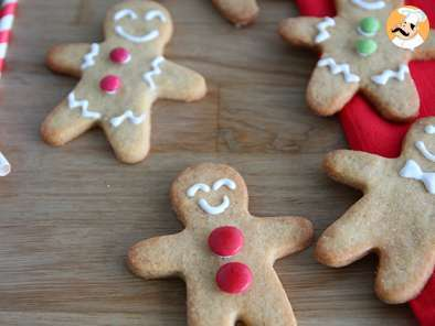 Recette Biscuits sablés bonshommes - Gingerbread Men