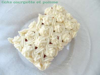 Recette Cake pomme courgette