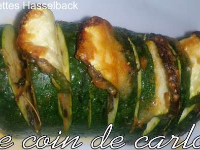 Recette Courgettes Hasselback