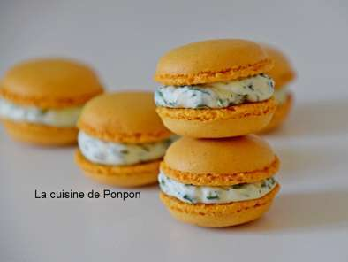 Recette Macaron curry et spicy