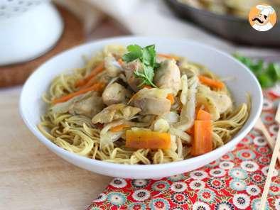 Nouilles Chinoises Dietetique Poulet Crevettes Ou Du Bon Usage Du