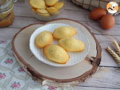Recette Madeleines natures