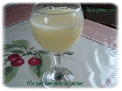 Recette Jus de pommes coing thermomix