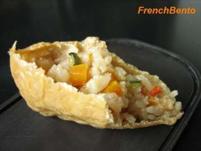 Recette Inarizushi au mixed rice