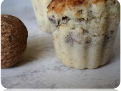Recette Muffins fromage & noix
