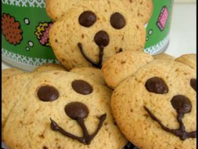 Recette Teddy bear cookies (cookies petits oursons)
