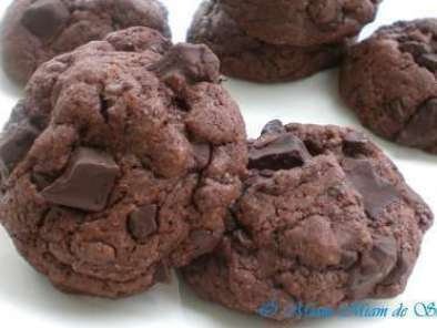 Recette Cookies tout choco