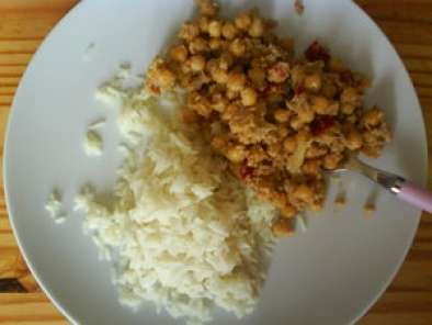 Recette Pois chiches korma