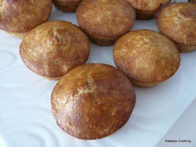 Recette Muffins au son de blé/healthy wheat and oat bran muffins
