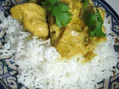 Recette Spicy coconut chicken thai curry et mon riz a la badiane!!