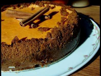 Recette Cheese cake speculoos orange avec sa sauce aux bastogne
