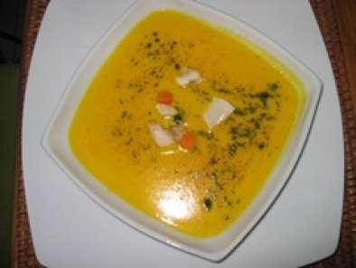 Velout de potimarron aux st jacques poel es recette ptitchef - Calories chataignes grillees ...