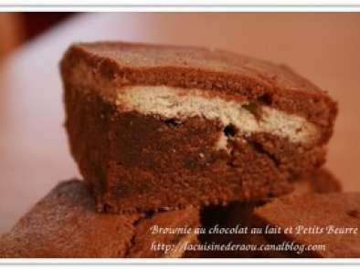 brownies aux deux chocolats v ritable p ch recette ptitchef. Black Bedroom Furniture Sets. Home Design Ideas