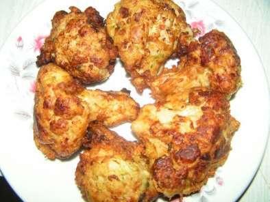 Beignets de chou-fleur au curry, Recette Ptitchef