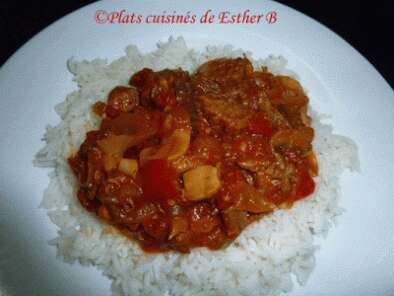 Recette Boeuf africain